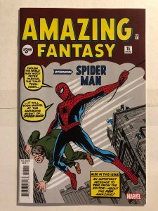 Amazing Fantasy #15 Facsimile (2019)
