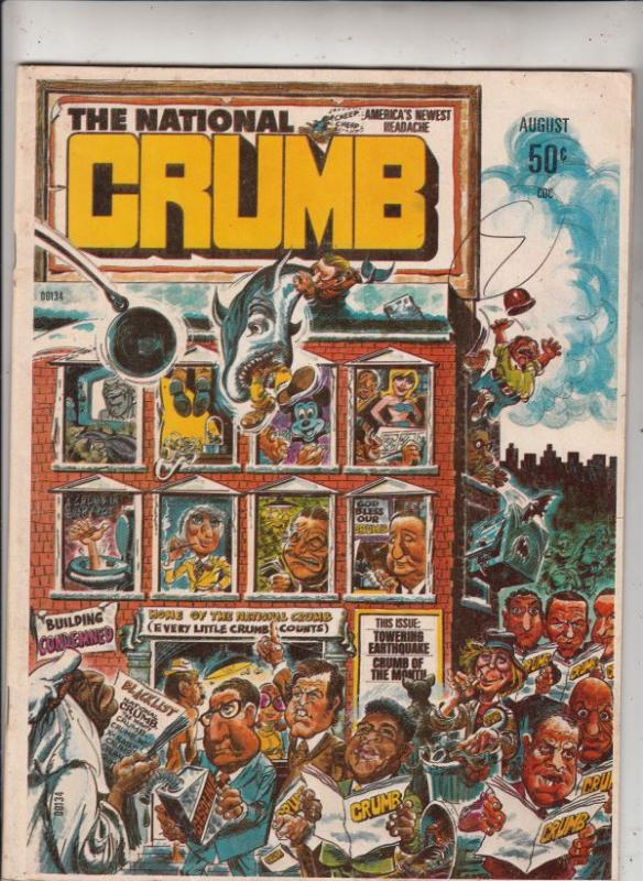 The National Crumb #1 (Aug-75) VF High-Grade