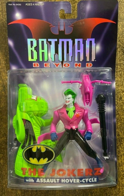 BATMAN BEYOND: GOTHAM CITY IN THE FUTURE JOKERZ with Assault Hover-Cycle MOC
