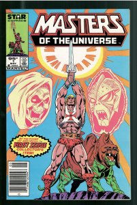 MASTERS OF THE UNIVERSE #1 9.2 1986 STAR, NEWSSTAND,CANADIAN PRICE- ONLY ONE!