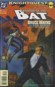SALE - BATMAN - DC - SHADOW OF THE BAT #21 -NEW - BAGGED & BOARDED