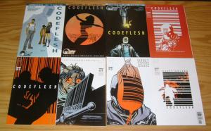 Codeflesh #1-8 VF/NM complete story - joe casey - charles adlard - double image