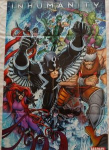 INHUMANITY Promo Poster, 24 x 36, 2013, MARVEL INHUMANS, Unused 272