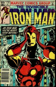 Iron Man #170 - FINE - Rhodes Takes Over As Iron Man