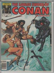 SAVAGE SWORD OF CONAN #104 F A01386