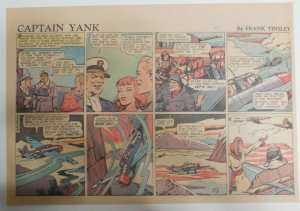 (52) Captain Yank Sundays by Frank Tinsley 1943 11 x 15 inches Complete Year !