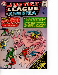 BUY NOW Silver Age JUSTICE LEAGUE of AMERICA #37 INVESTMENT PRICED