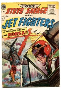 Captain Steve Savage and His Jet Fighters #10 1955 VG