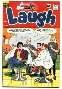 Laugh Comics #180 1966- Archie- Betty- Veronica Barbershop cover FN