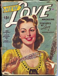 New Love 4/1946-Popular-Good Girl Art-Peggy Graves, editor-pulp romance-G
