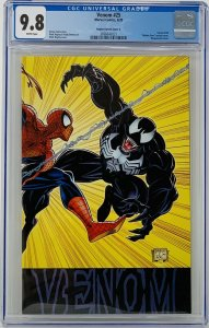 Venom #25 CGC 9.8 Marvel 2020. Mark Bagley Hidden Gem Variant. Venom 190.