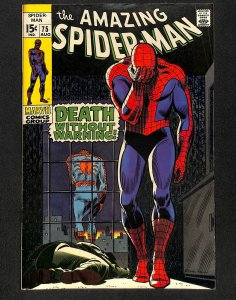 Amazing Spider-Man #75 FN 6.0 Death of Silvermane!