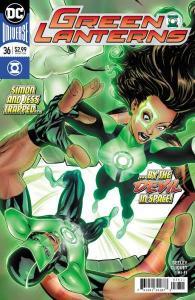 Green Lanterns (2016 series) #36, NM + (Stock photo)