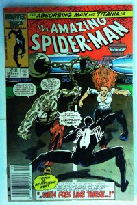 Amazing Spider-man #283 Bronze age FN+  Black Costume  1986 Comic Comics book