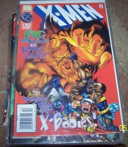 X Men # 47 (Dec 1995, Marvel) mojo x babies mutants xmen