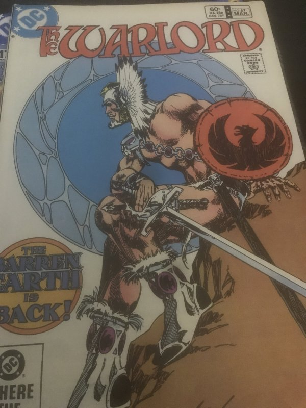 DC The Warlord #67 Mint Rare