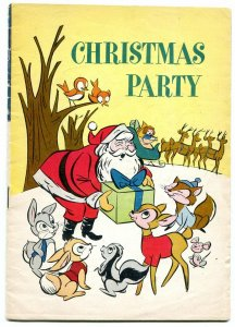 March of Comics #256 1963- Christmas Party- Santa Claus- Promo comic