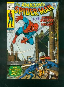 AMAZING SPIDER-MAN #95 1971-MARVEL COMICS-J ROMITA ART VF