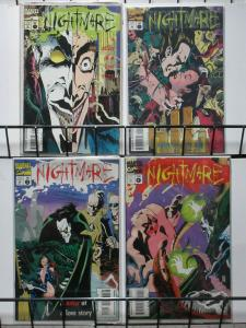 NIGHTMARE 1-4 complete set SLINGS & ARROWS recommended!