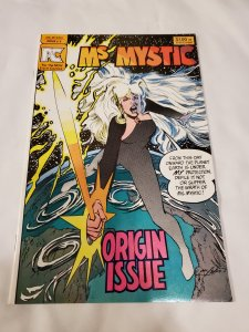 Ms Mystic 1 VF/NM Cover by Neal Adams