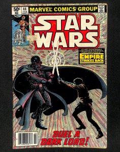 Star Wars #44 VG 4.0 Darth Vader Empire Strikes Back!