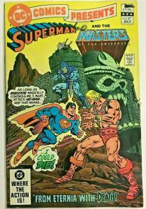 DC COMICS PRESENTS#47 VG 1982 FIRST HE-MAN IN  COMICS