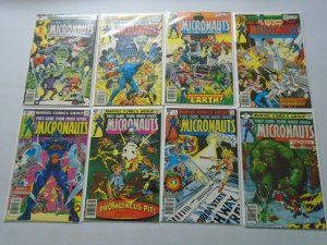 Micronauts Comic Lot From: #1-22 + Annual #1 20 Diff Books Avg 8.0 VF (1979-80)