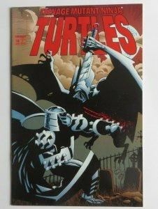 Teenage Mutant Ninja Turtles #14 FN/VF Shredder Cover Image 1998 1st Print TMNT