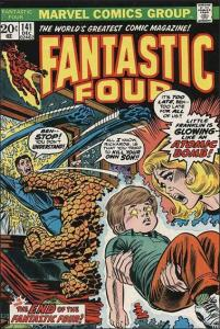 Marvel FANTASTIC FOUR (1961 Series) #141 FN