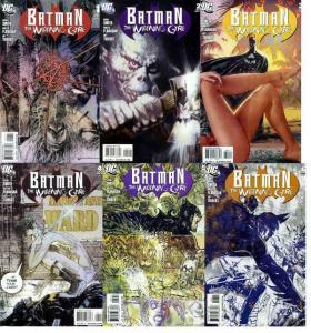BATMAN WIDENING GYRE (2009) 1-6  Sienkiewicz