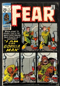 Adventure into Fear #5 (1971)