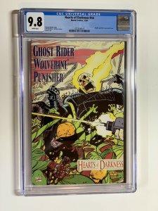 Hearts Of Darkness Wolverine Ghost Rider Punisher Nn 1 Cgc 9.8
