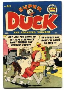 Super Duck #43 1952- Golden Age Archie Funny Animals-FN/VF