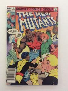 NEW MUTANTS #7 - Signed by Cover Artist Bob McLeod w/COA