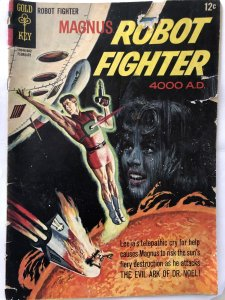 Magnus Robot Fighter #13,GD, Rockets crashing into the Sun!& Evil Dr. Noel!
