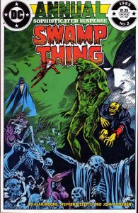 Saga of the Swamp Thing, The Annual #2 FN; DC | save on shipping - details insid