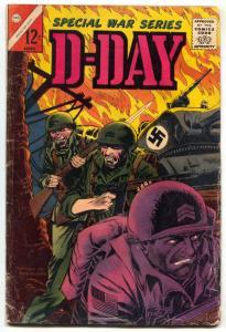 Special War Series D-Day Vol. 4 #1 1965-CHARLTON-- G