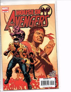 Marvel Comics House of M: Avengers #2 Luke Cage; Shang-Chi; Hawkeye; Tigra