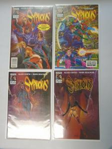 Syphons lot #1-3 2nd Series + #1 The Sygate Stratagem 9.4 NM (1994)