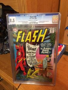 Flash 159 Cgc 8.5 Off White To White Pages Kid Flash! See Pics!