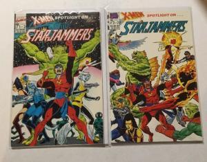 X-Men Spotlight On. . . Star Jammers 1 2 Complete NM Near Mint