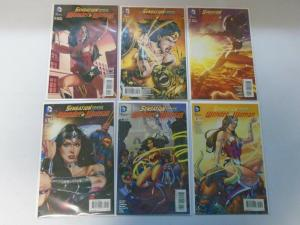 Sensation Comics Featuring Wonder Woman lot from #2-14 11 different issues Avg 7