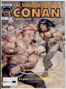 SAVAGE SWORD of CONAN #153 VF, Red Sonja, Blood, Norem, more SSOC in store
