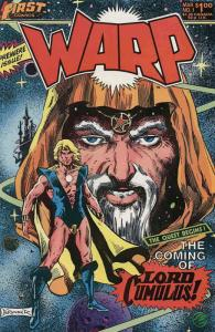 Warp #1 VF/NM; First | save on shipping - details inside