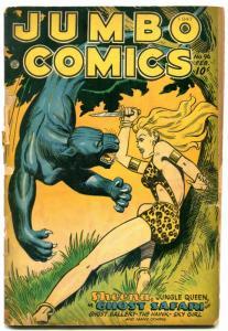 Jumbo Comics #96 1947- Sheena- Matt Baker- G/VG
