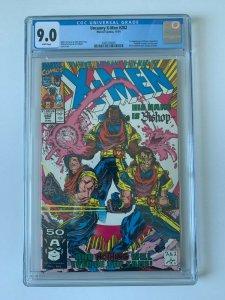 Uncanny X-Men #282 1st App of Bishop - CGC 9.0