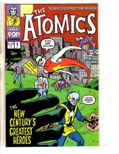 7 The Atomics AAA Pop Comics # 1 2 3 4 5 + King Size Jigsaw World's Within TD9