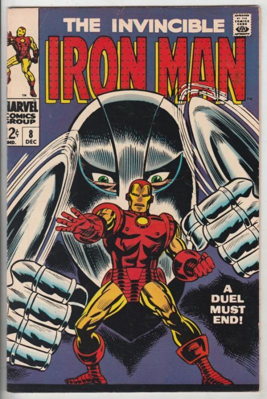 Iron Man #8 (Dec-68) NM- High-Grade Iron Man