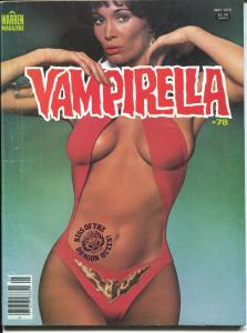 Vampirella #78 1979-Warren-appealing Barbara Leigh cover-spicy stories-VG