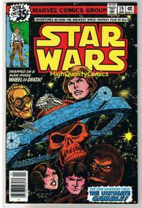 STAR WARS #19, VF/NM, Luke Skywalker, Darth Vader, 1977, more SW in store